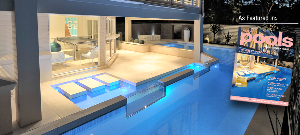 AwardWinning Concrete Swimming Pool Spa Builders Newcastle  Concrete Pool Designs